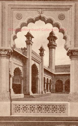 Courtyard Indian Pavillion British Empire Exhibition1924