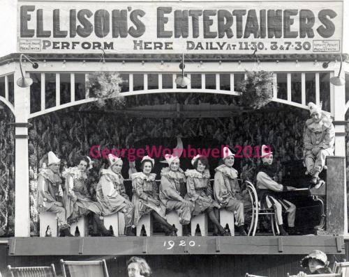 Ellisons Entertainers 1920