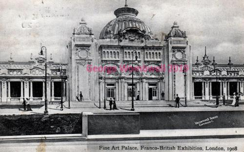 Fine Art Palace Franco-British Exhibition 1908