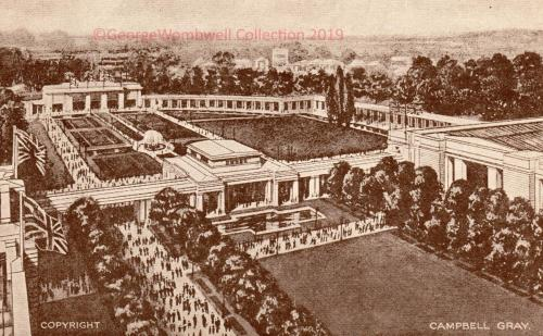 Gardens North Entrance British Empire Exhibition 1924