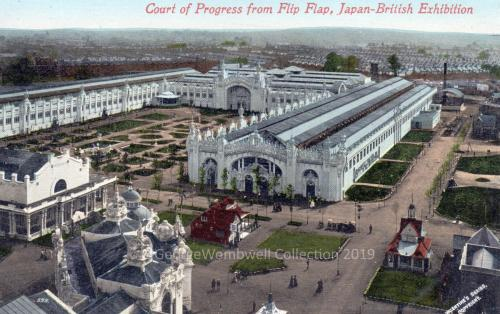 Pavillion of Progress Japan-British Exhibition 1910