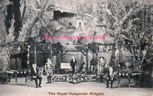 Royal Hungarian Midgets undated