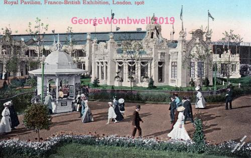 Royal Pavillion Franco-British Exhibition London 1908