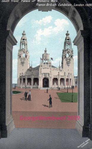 South Front Palace of Womens Work Franco-British Exhibition 1908