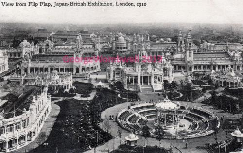 View from Flip-Flap Japan-British Exhibition London 1910