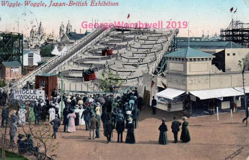 Wiggle-Woggle Japan-British Exhibition 1910