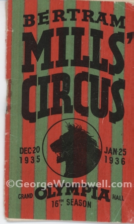Bertram Mills Olympia 1936